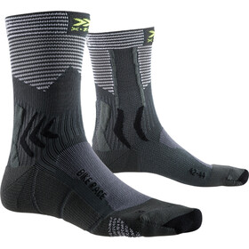 X-Socks Bike Race Sokker charcoal/arctic white